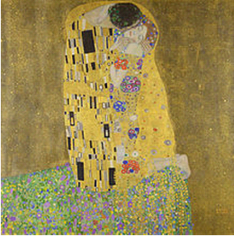 Gustav Klimt: The Kiss (1907-1908)- More Fine Arts