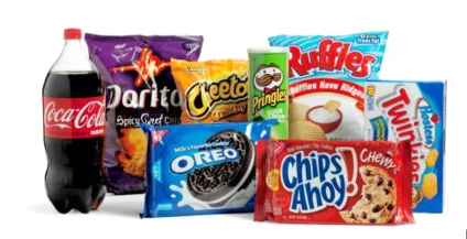 Junkfood- Food Wrapper Art